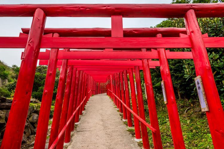 元乃隅神社(元乃隅稻成神社)