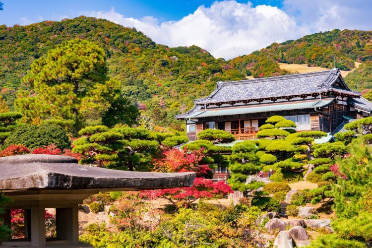 毛利氏庭園(毛利博物館)