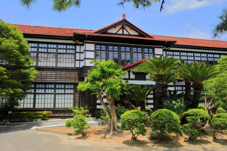 萩・明倫學舎(舊萩藩校明倫館)