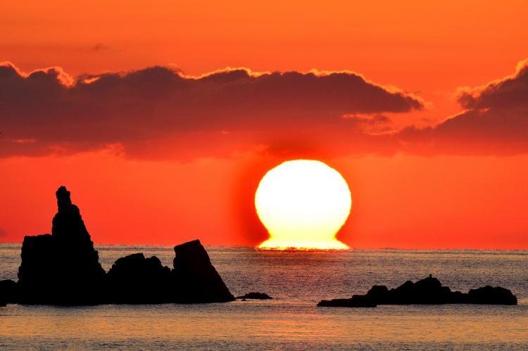 宿毛灣之達摩夕陽