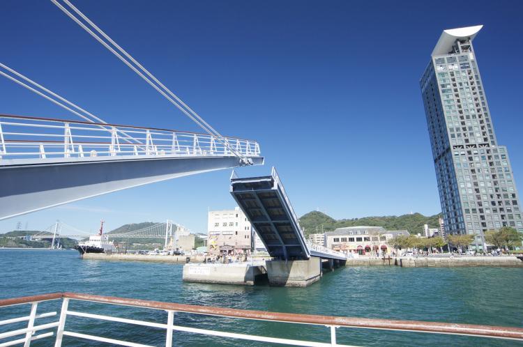 門司藍翼橋(門司港地區)
