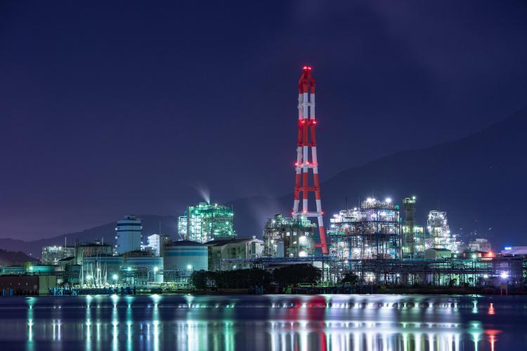 【工場夜景】南二島