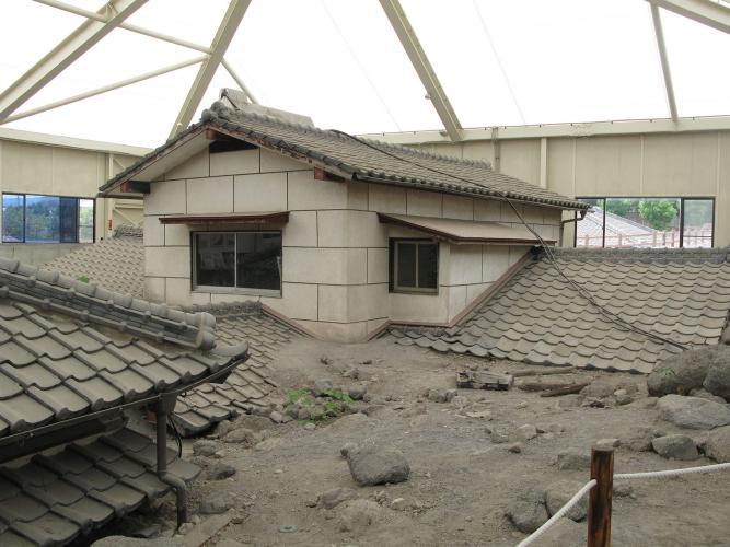 雲仙岳災害紀念館(GAMADASU巨蛋)