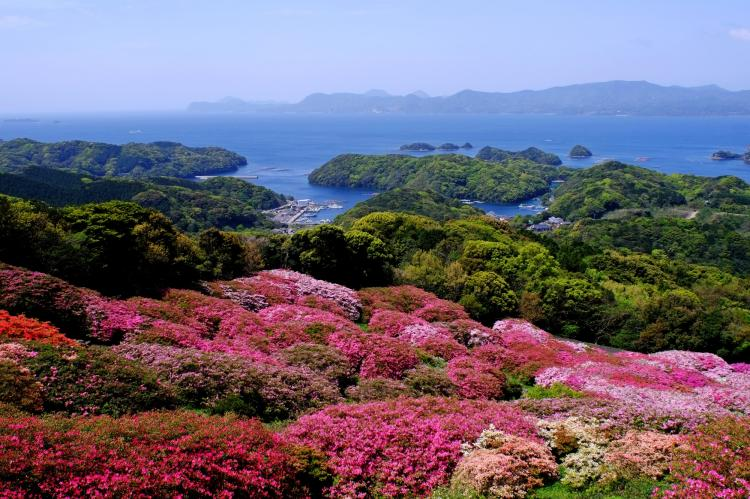 長串山公園展望所(九十九島)