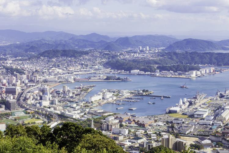 弓張岳展望台(九十九島)