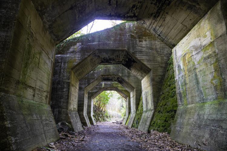 八角隧道(熊延鐵道遺構)
