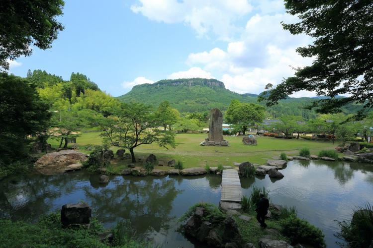 舊久留島氏庭園