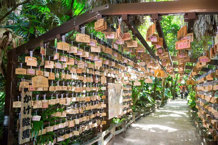 青島神社(鬼之洗衣板)