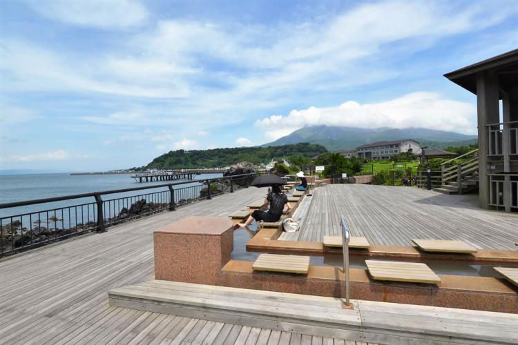 櫻島熔岩渚公園